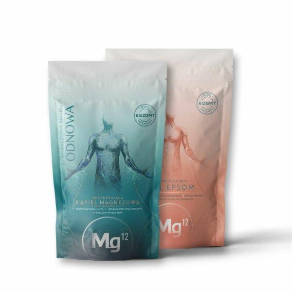 mg12 epsom 1kg + płatki odnowa 1kg