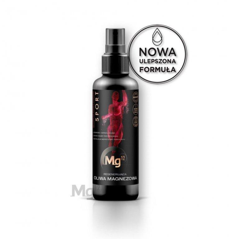 oliwa magnezowa dla sportowców Mg12 SPORT