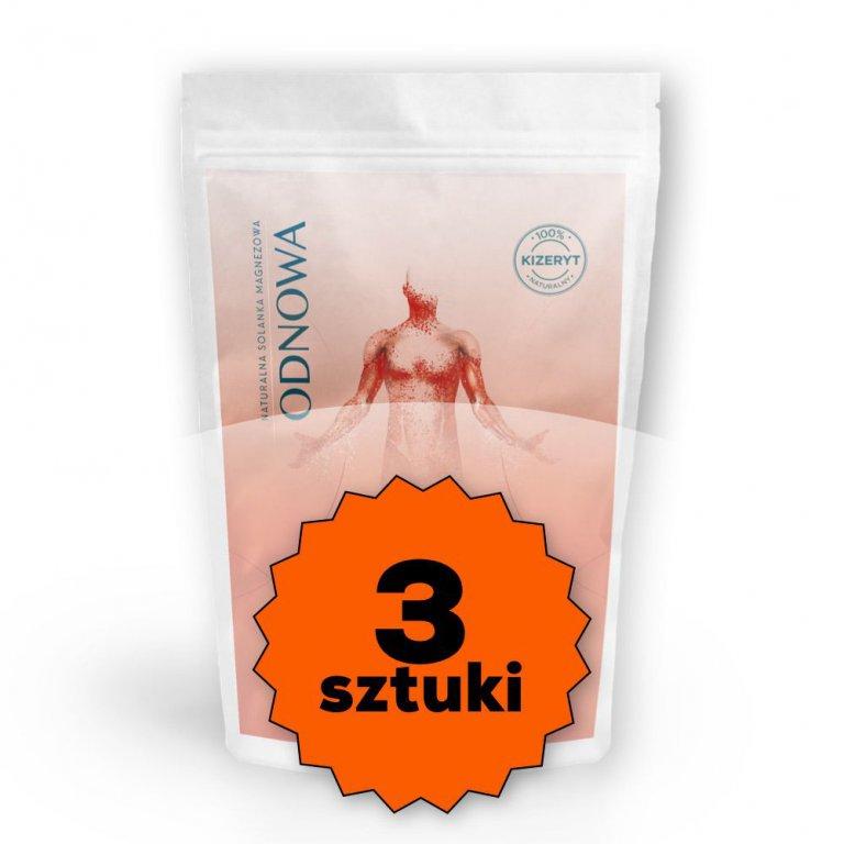 Sól gorzka Epsom 3 x 1kg Mg12